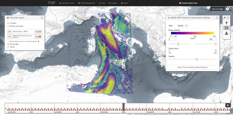 Atmospheric Data Lab (TOP)