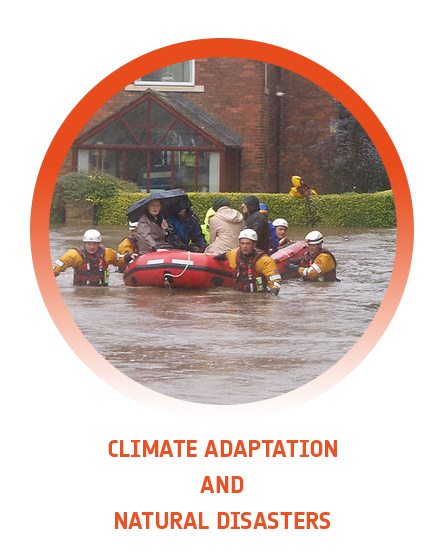 Climate adaptation and natural disasters